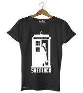 Doctor Sherlock Erkek Tişört - Dyetee