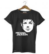 Michael Jackson Face Kadın Tişört Dyetee