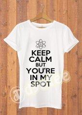 Big Bang Theory Keep Calm Kadın Tişört - Dyetee