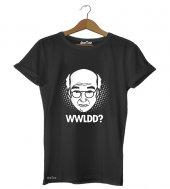 Larry David Kadın Tişört - Dyetee