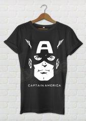 Kaptan Amerika Kadın Tişört - Dyetee
