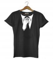Komik Kravat Kadın Tişört - Dyetee