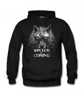 Wolf of Thrones Erkek Sweatshirt ve Kapüşonlu - Dyetee