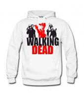Walking Dead II Erkek Sweatshirt ve Kapüşonlu - Dyetee