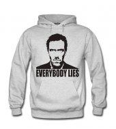 Everbody Lies Erkek Sweatshirt Ve Kapüşonlu Dyetee