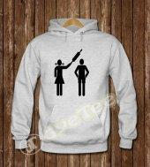Merdane Erkek Sweatshirt ve Kapüşonlu - Dyetee