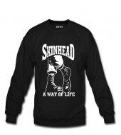 Skinhead Erkek Sweatshirt ve Kapüşonlu - Dyetee
