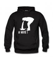 A Vote Erkek Sweatshirt Ve Kapüşonlu Dyetee
