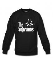 The Sopranos Font Erkek Sweatshirt Ve Kapüşonlu Dyetee