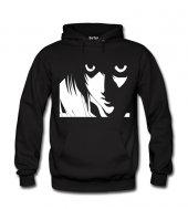 Death Note Eyes Erkek Sweatshirt ve Kapüşonlu - Dyetee