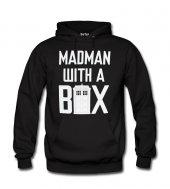 Madman Box Erkek Sweatshirt ve Kapüşonlu - Dyetee