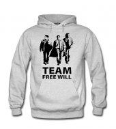 Team Free Will Kadın Sweatshirt ve Kapüşonlu - Dyetee