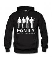 Family Kadın Sweatshirt ve Kapüşonlu - Dyetee