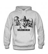 Walking Dead Zombie Kadın Sweatshirt ve Kapüşonlu - Dyetee
