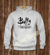 Buffy Kadın Sweatshirt ve Kapüşonlu - Dyetee