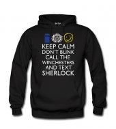 Sherlock Dr Who Supernatural Kadın Sweatshirt Dyetee