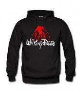 Walking Dead Disney Kadın Sweatshirt ve Kapüşonlu - Dyetee