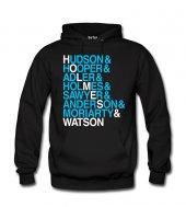 Sherlock Jetset Kadın Sweatshirt Ve Kapüşonlu Dyetee