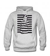 Charlie Chaplin Mahkum Kadın Sweatshirt ve Kapüşonlu - Dyetee