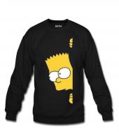Haylaz Bart Simpson Kadın Sweatshirt Ve Kapüşonlu Dyetee