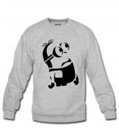 Minion Kadın Sweatshirt Ve Kapüşonlu Dyetee