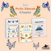 Hygge + Lykke + Japonizm Takım Set (Ciltli 3 Kitap)