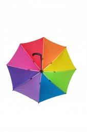 Gökkuşağı 8 Tel Bayan Baston Şemsiye