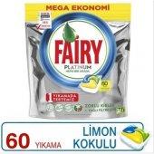 Fairy Platinum 60 Kapsül Bulaşık Makinesi Tablet Deterjanı