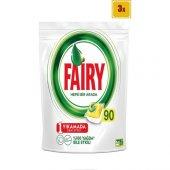 Fairy Hepsi Bir Arada Bulaşık Makinesi Deterjanı Kapsülü Limon Kokulu 90 Yk (X3)