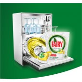 Fairy Hepsi Bir Arada 90 Yıkama Bulaşık Makinesi Deterjanı Kapsülü Limon Kokulu