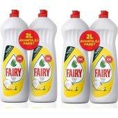 Fairy 4000 Ml (4 X 1000 Ml) Fırsat Paketi Sıvı...
