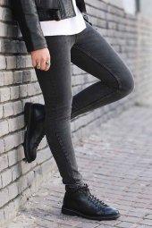 Madmext Slim Fit Siyah Jean 015