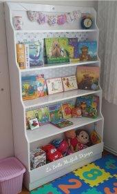 çocuk Odası Montessori Kitaplık Tamamı Mdf,...