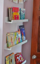 Montessori Raf, Duvar Rafı, Dekoratif Raf,...