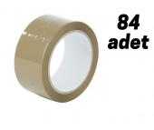 KOLİ BANDI 45*100 KAHVERENGİ 1 KOLİ (84 ADET)-2