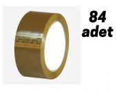 KOLİ BANDI 45*100 KAHVERENGİ 1 KOLİ (84 ADET)