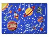 Akay Uzay 200x300 Mavi Bukle Halı