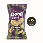 Eti Gong Pops Baharatlı Çeşnili 15 X 80 Gr