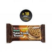 Eti Burçak Yer Fıstık Ezmeli Kremalı Proteinli Bisküvi 18 X 175 Gr