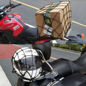 Bagaj Filesi Motosiklet Kask Ve Yük Filesi Spor Tasarım 40x40cm