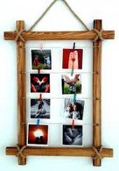 Ahşap 65x50 mandallı Fotoğraf çerçevesi-2
