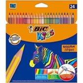 Bic Kids Evolution Stripes Kuru Boya Kalemi 24...