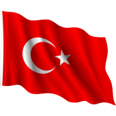 Türk Bayrağı Kumaş -Ölçü Seçenekli