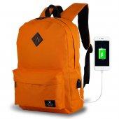 My Valice Smart Bag SPECTA Usb Şarj Girişli Akıllı Sırt Çantası-4