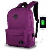 My Valice Smart Bag SPECTA Usb Şarj Girişli Akıllı Sırt Çantası-11
