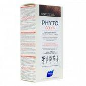 Phytocolor Yoğun Bakır Koyu Sarı Saçlı Kalıcı Set 6.34