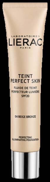 Lierac Teint Perfect Skin Fondöten Spf 20 Bronze Beige 04 30 Ml