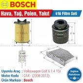 Vw Golf 6 1.6 Bosch Filtre Bakım Seti (2008 2012)