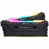 Corsair Vengeance RGB PRO AMD Ryzen 16GB (2x8) 3600MHz DDR4 CMW16GX4M2Z3600C18 Bellek 1,35V-2