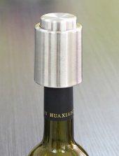 Çelik Vakumlu Şişe Tıpası, Şarap Pompası, Şişe Hava Alma Aparatı-5